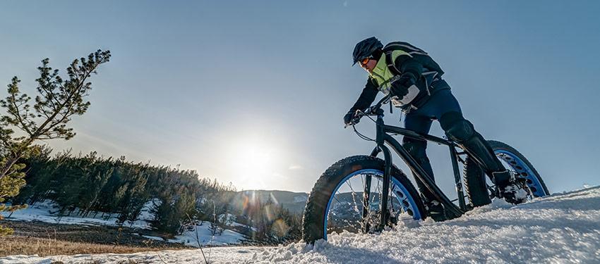 Mountainbike – fyra olika typer